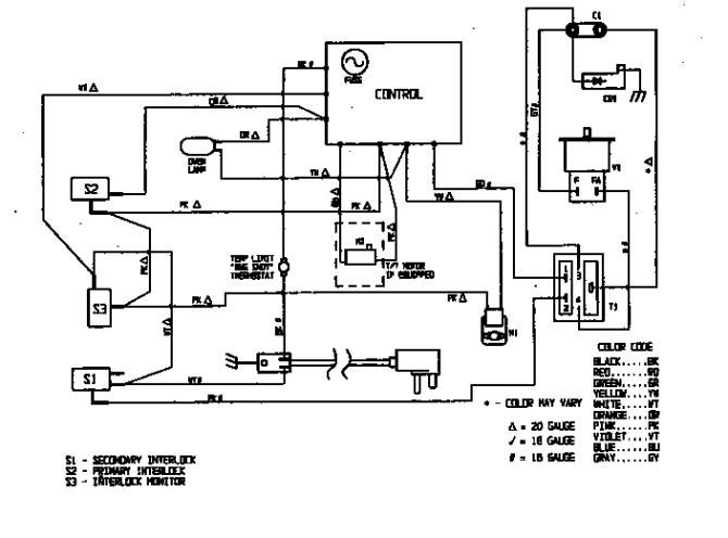 magic chef oven wiring diagram toyota tundra backup wire