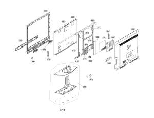 LG TV LCD 42 Parts | Model 42LC7DUKAUSYLJM | Sears PartsDirect
