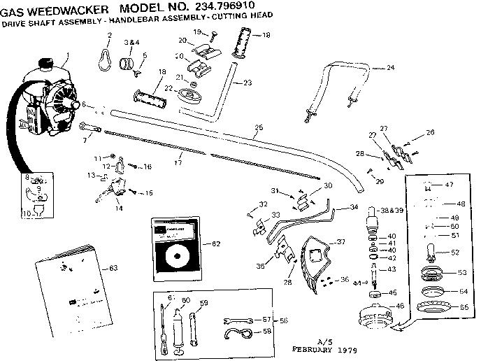 Craftsman 32cc Weed Wacker Parts Diagram