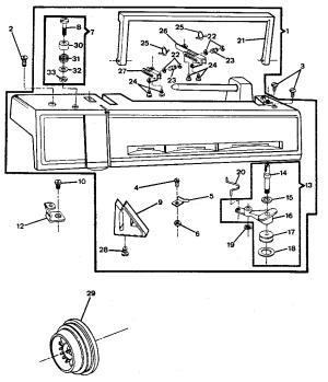 SINGER SINGER SEWING MACHINE Parts   Model 6217   Sears PartsDirect