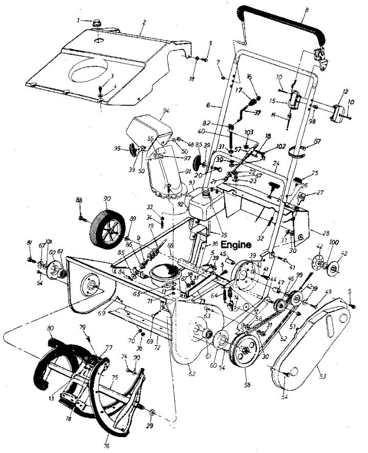 Model 247884311 | CRAFTSMAN SEARS CRAFTSMAN 20