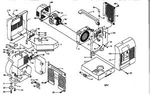 Coleman model PM0401805 generator genuine parts