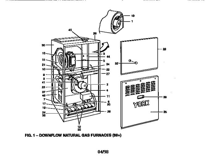 34 york furnace parts diagram  free wiring diagram source