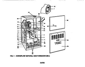 YORK FURNACE Parts   Model P3DNC16N09201   Sears PartsDirect