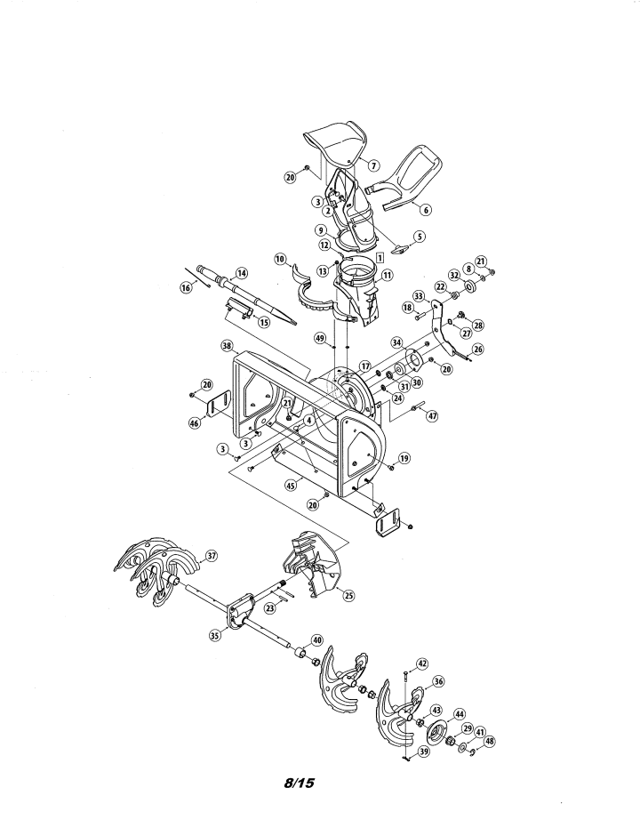 Model 247881980 | CRAFTSMAN SNOWTHROWER Parts