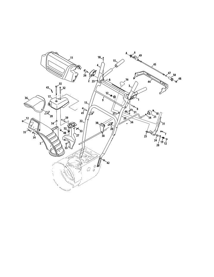 Model 247881732 | CRAFTSMAN SNOW THROWER Parts