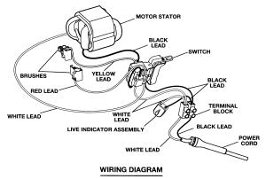 Craftsman model 315101160 drill reversing genuine parts