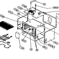 dacor oven wiring diagram decorating ideas dacor ersd36 parts list and diagram ereplacementparts com