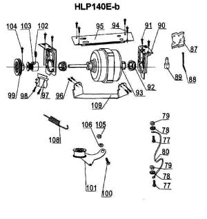 HAIER DRYER Parts   Model hlp140e   Sears PartsDirect