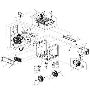 Generac model GP550059396 generator genuine parts