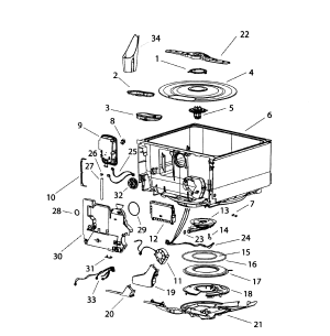 FISHERPAYKEL DISHWASHER Parts | Model DD60388445B | Sears