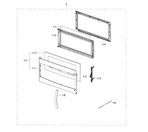 SAMSUNG MICROWAVEHOOD COMBO Parts | Model me18h704sfsaa0001 | Sears PartsDirect