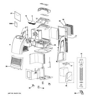 Ge Room Air Conditioner Parts Parts Wiring Diagram Images