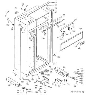 GE REFRIGERATOR Parts | Model ZISS480DMA | Sears PartsDirect