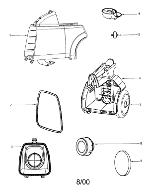 EUREKA MIGHTY MITE Parts | Model 3674a | Sears PartsDirect