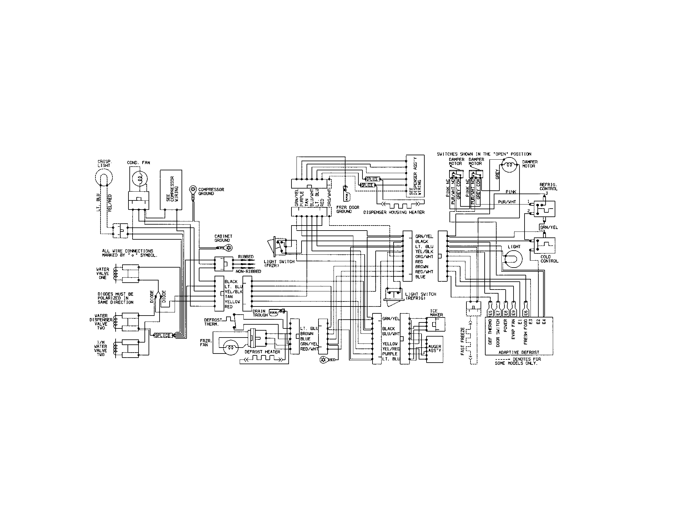 P0106200 00011?resize\=250%2C250\&ssl\=1 kenmore refrigerator wiring schematic kenmore wiring diagrams  at edmiracle.co