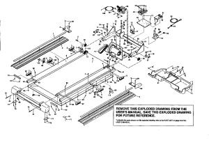 Proform model PFTL72580 treadmill genuine parts