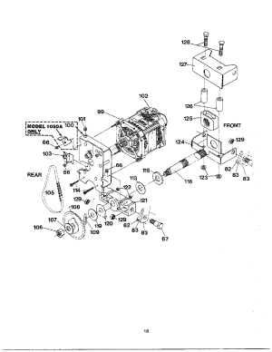 Broan model 1050 pactors genuine parts