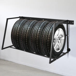 gymax multi tire rack storage