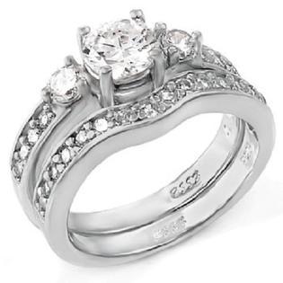 Edwin Earls Two Piece 925 Sterling Silver Wedding
