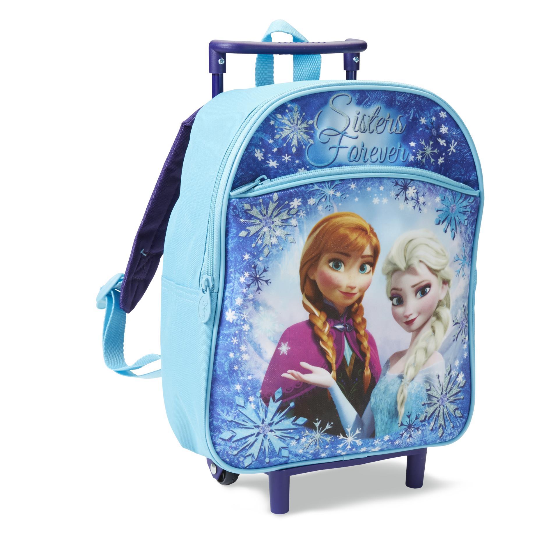 Disney Frozen Girls Rolling Backpack