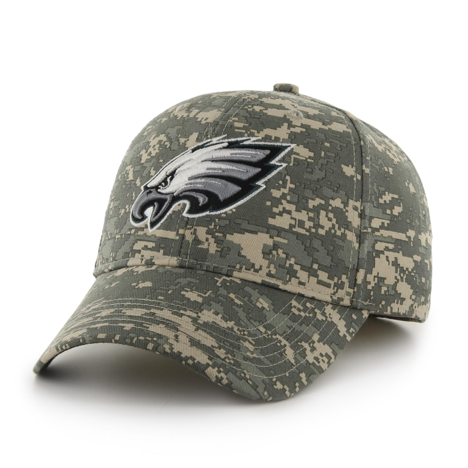 NFL Mens Camo Baseball Hat Philadelphia Eagles