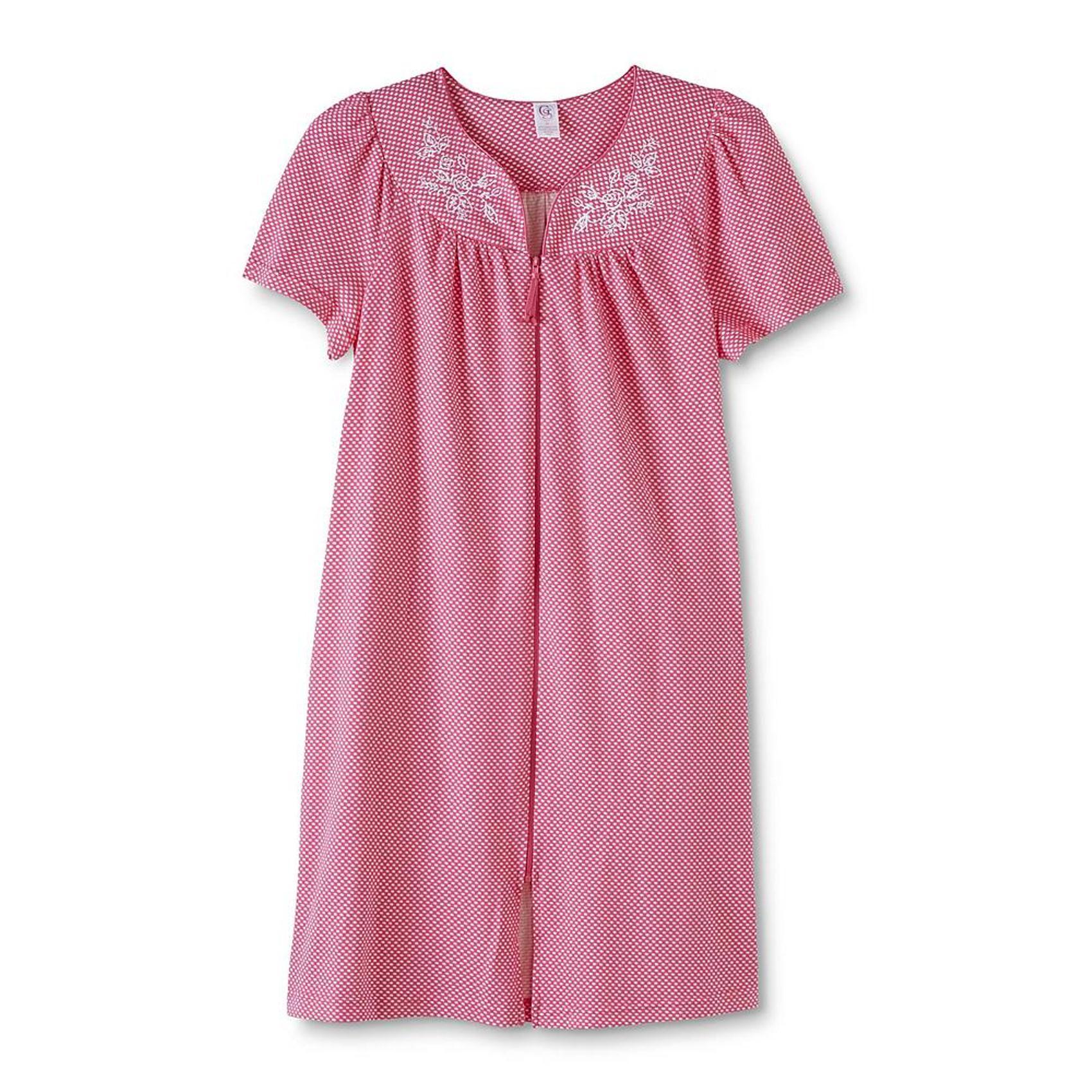Sears Plus Size Robe Zipper