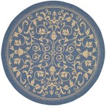 Safavieh Courtyard Indoor Outdoor Rug Cy2098 5ft Round