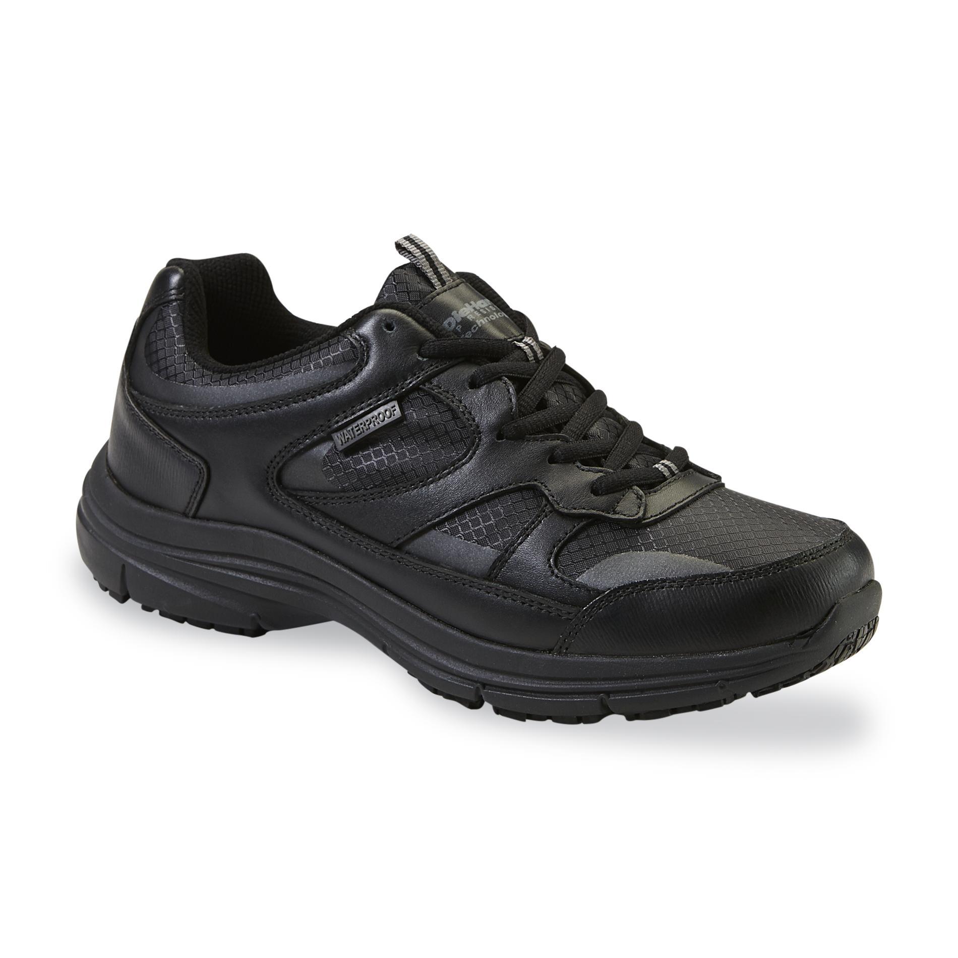 DieHard Mens Mac Soft Toe Waterproof Work Shoe Black