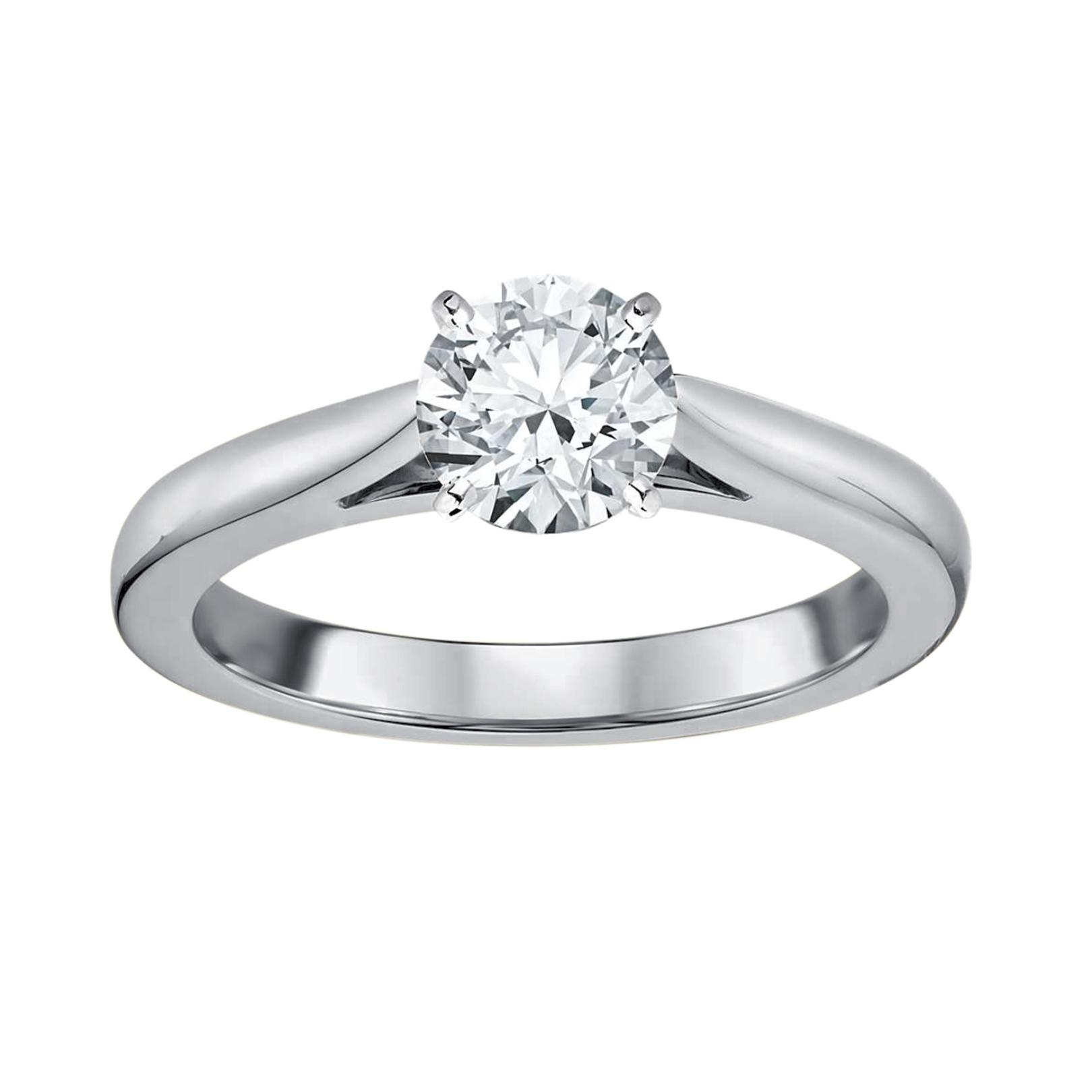 Tradition Diamond 1 Carat Certified Diamond 14K White Gold
