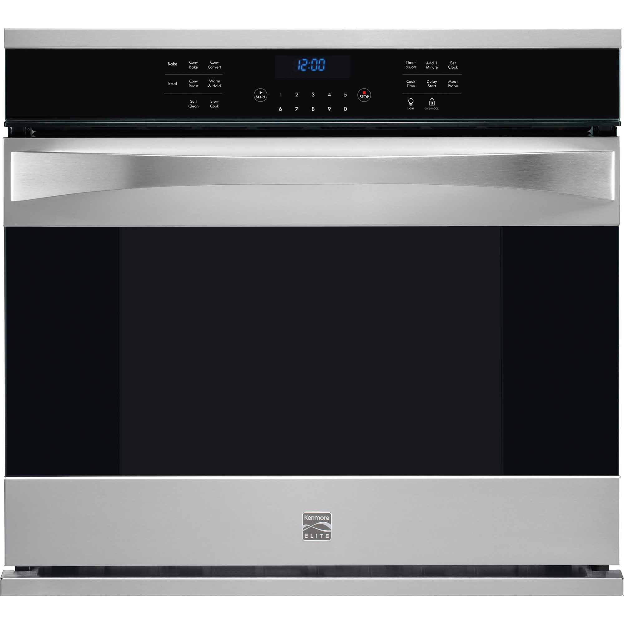 "Kenmore Elite 48353 51 cu ft 30"" Electric Wall OvenSears"