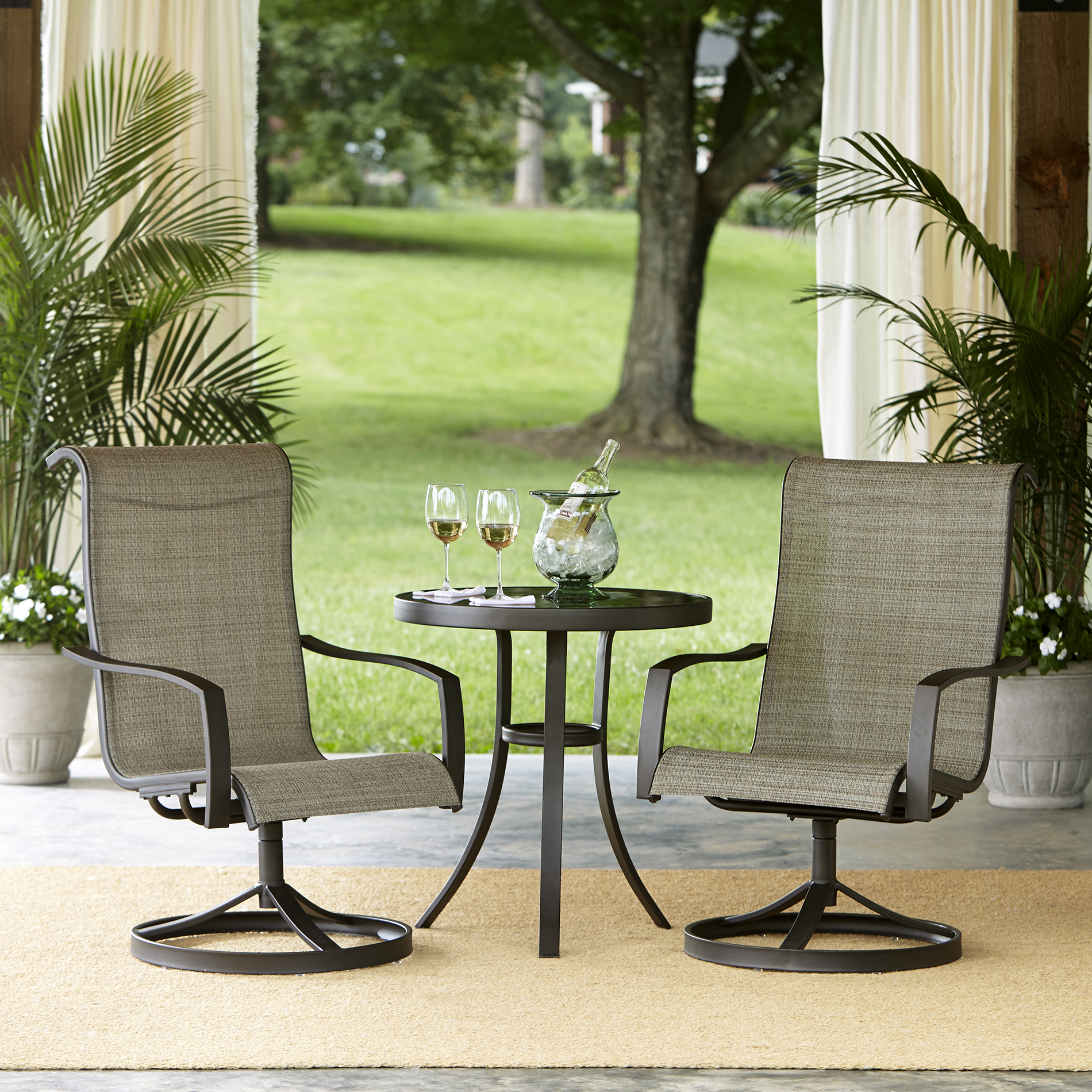 Garden Oasis Providence 3pcs Bistro Set - Limited ... on Outdoor Living Ltd  id=41179