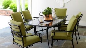 Garden Oasis Rockford 7 Piece Dining Set In Green Sears