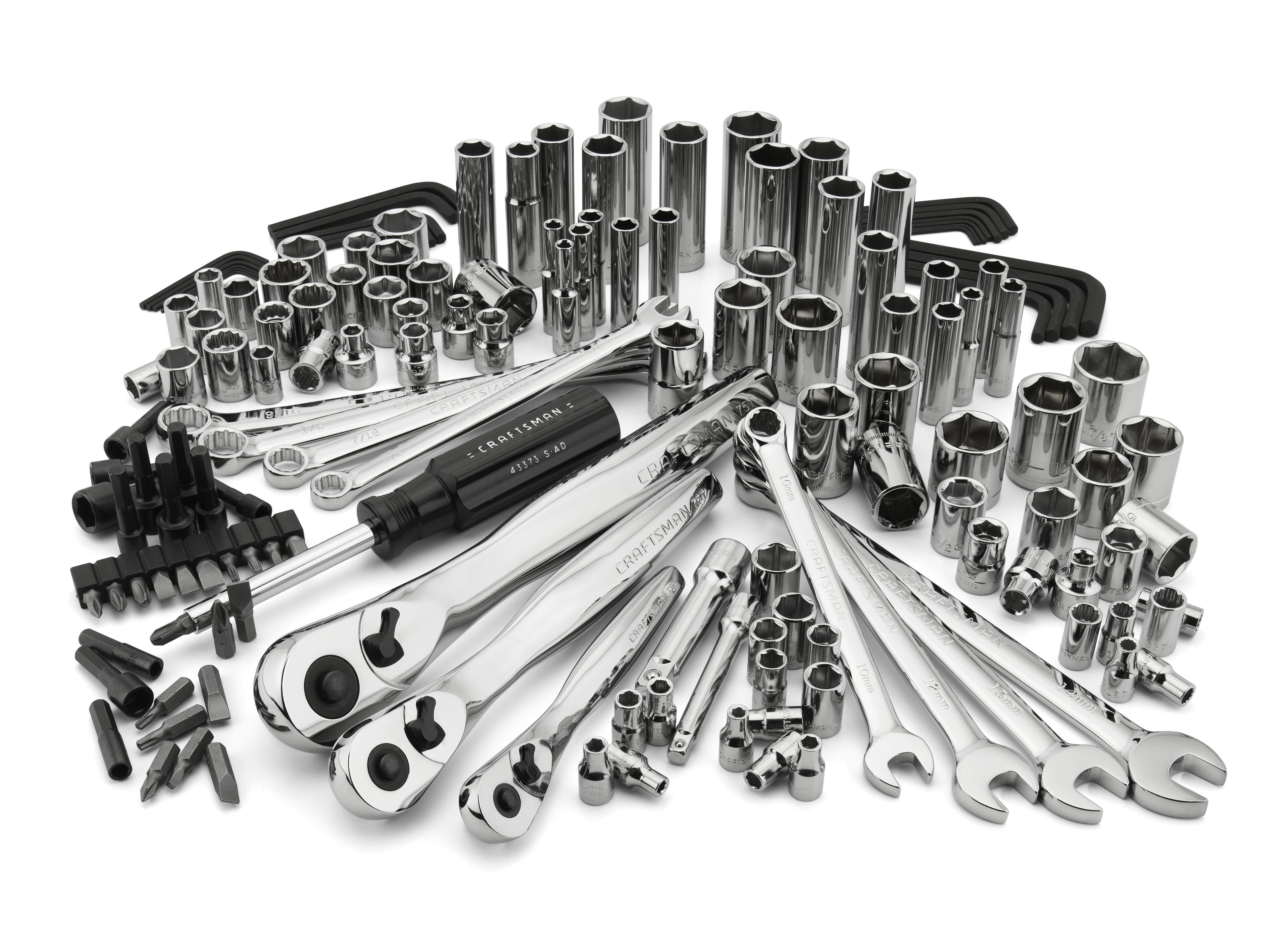 Craftsman 155pc Mechanics Tool Set