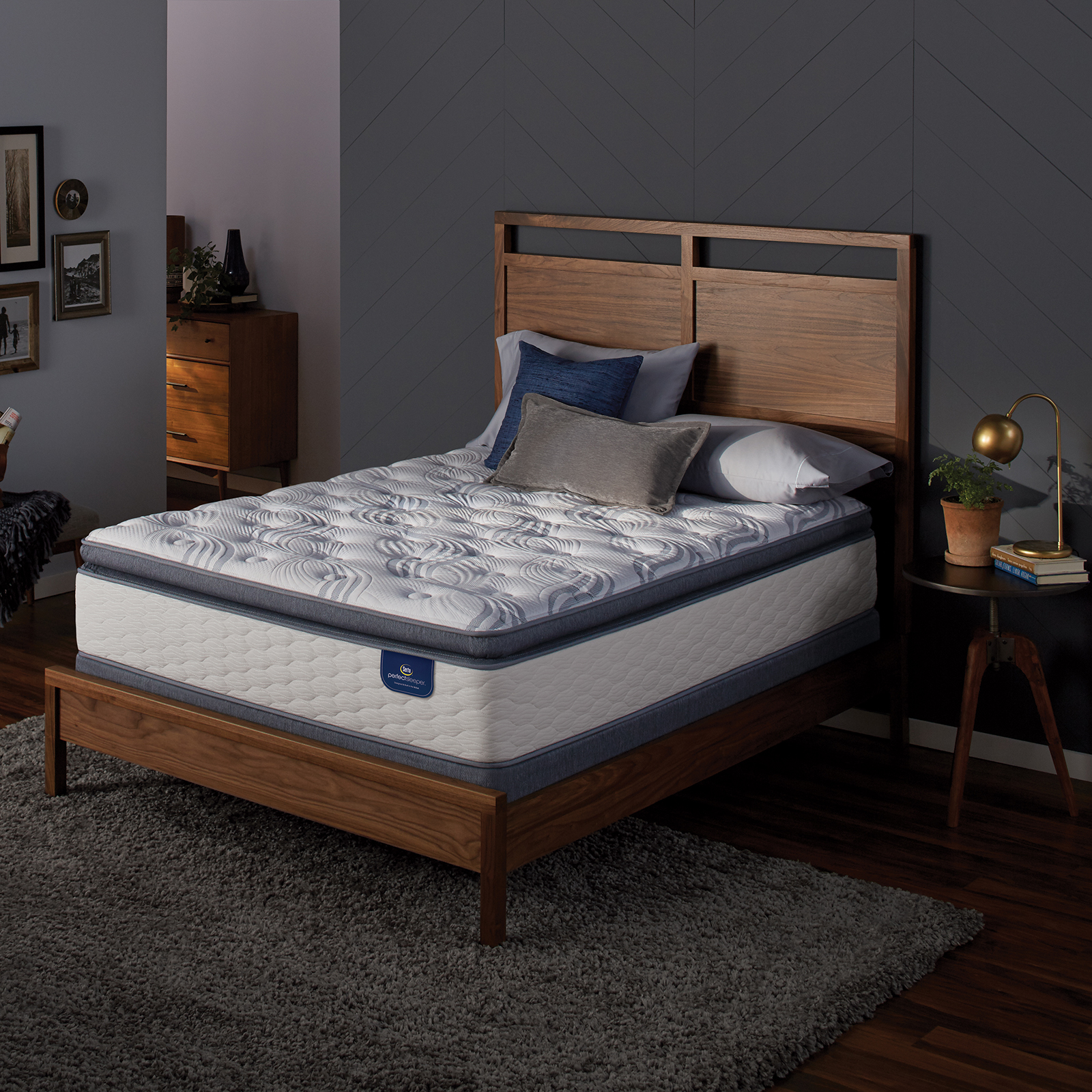 Serta Perfect Sleeper Teddington Plush Cal King Mattress
