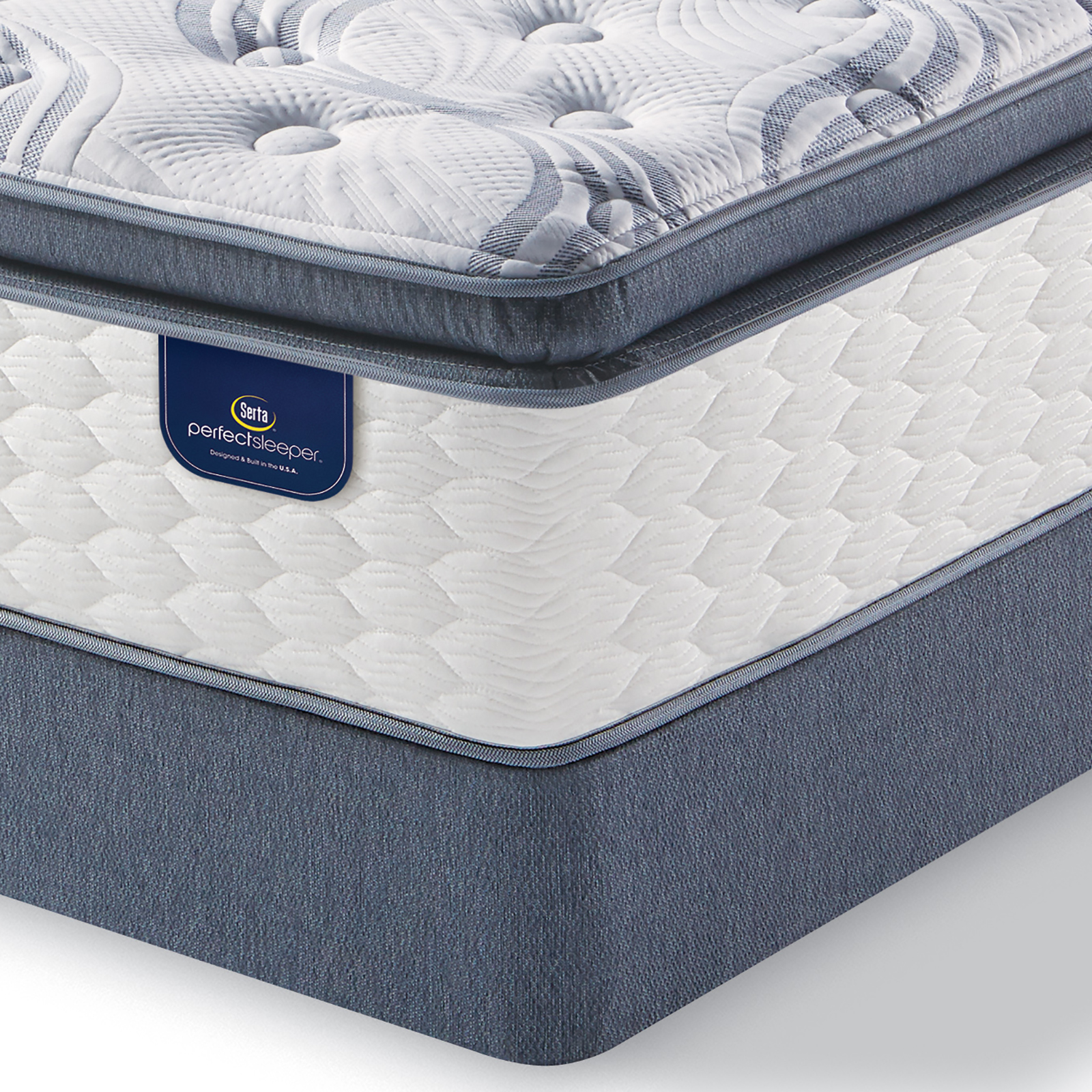 Serta Perfect Sleeper Teddington Plush King Mattress