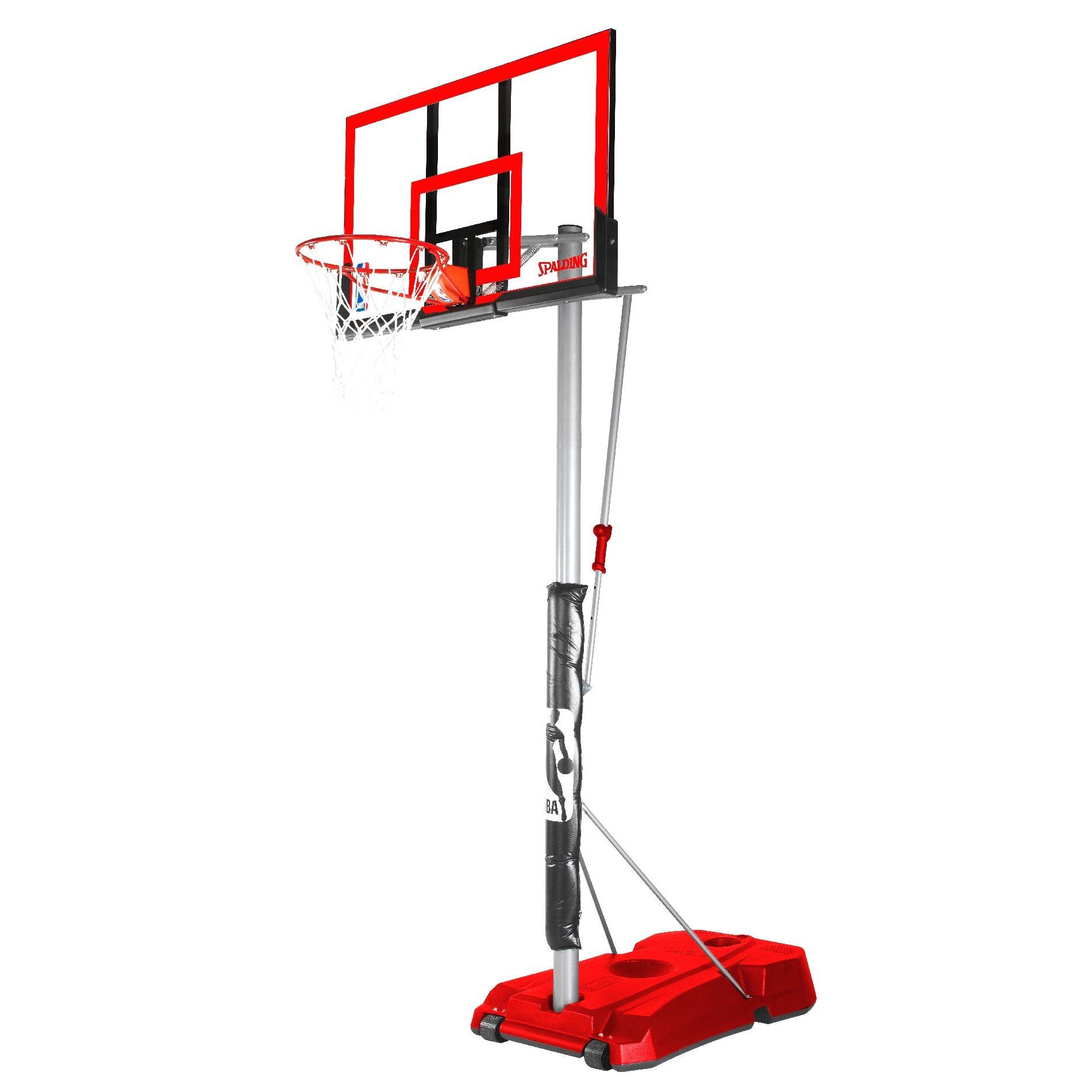 Spalding NBA 52 HERCULES RED Acrylic Portable Basketball