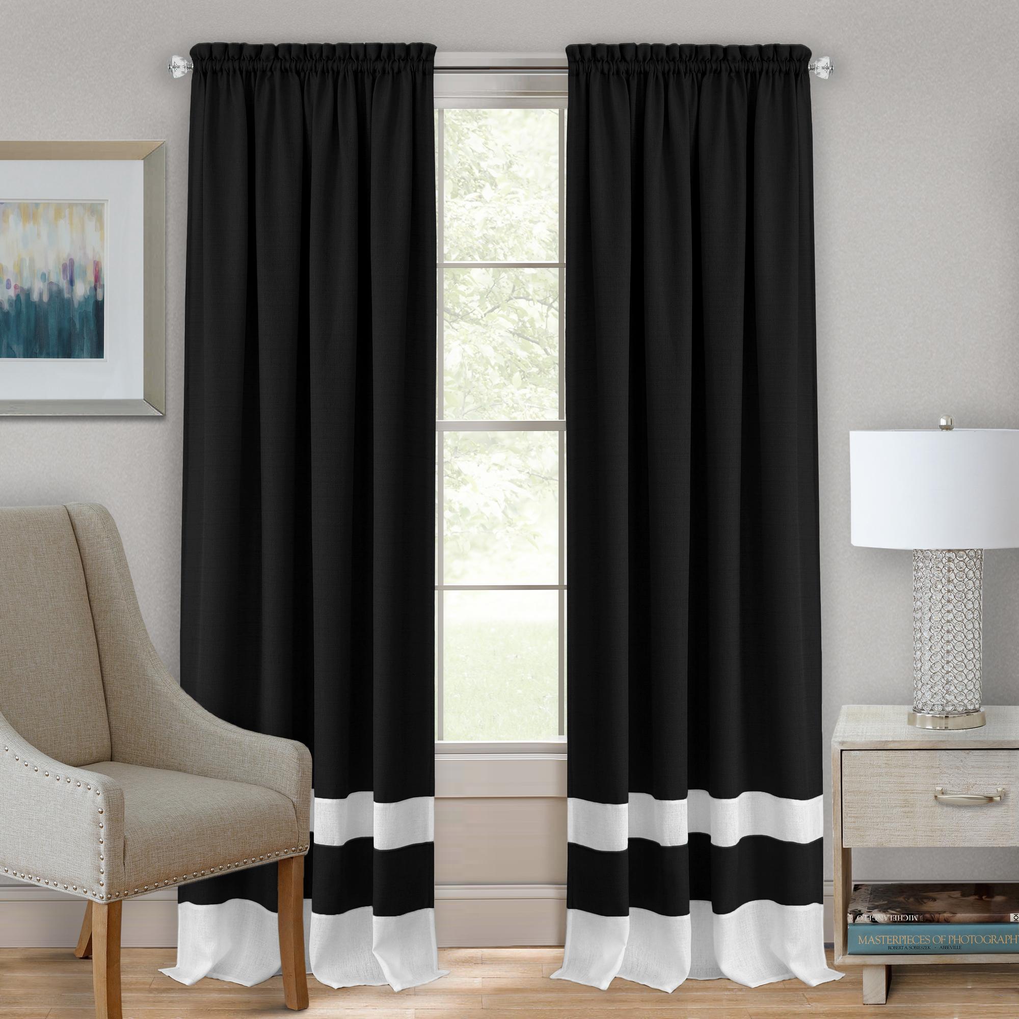 Achim Darcy Rod Pocket Window Curtain Panel