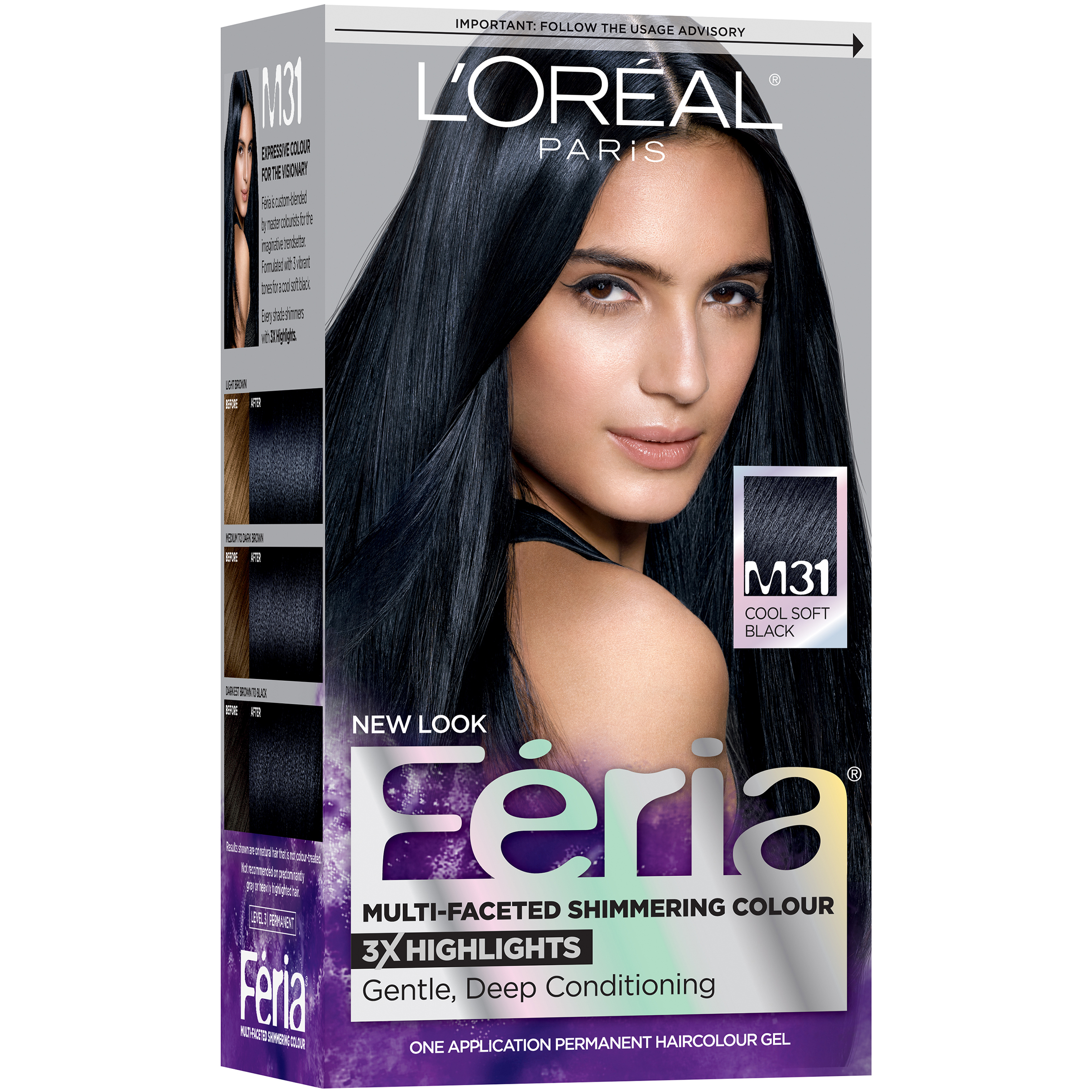 LOreal Paris Feria Multi Faceted Shimmering Colour Hair