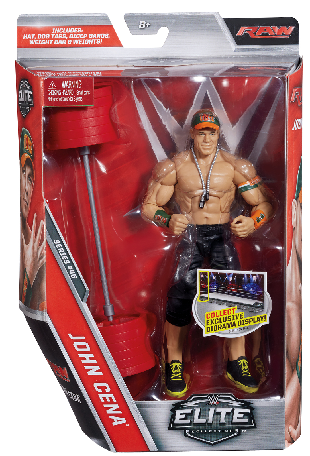 WWE John Cena Elite 46 Toy Wrestling Action Figure