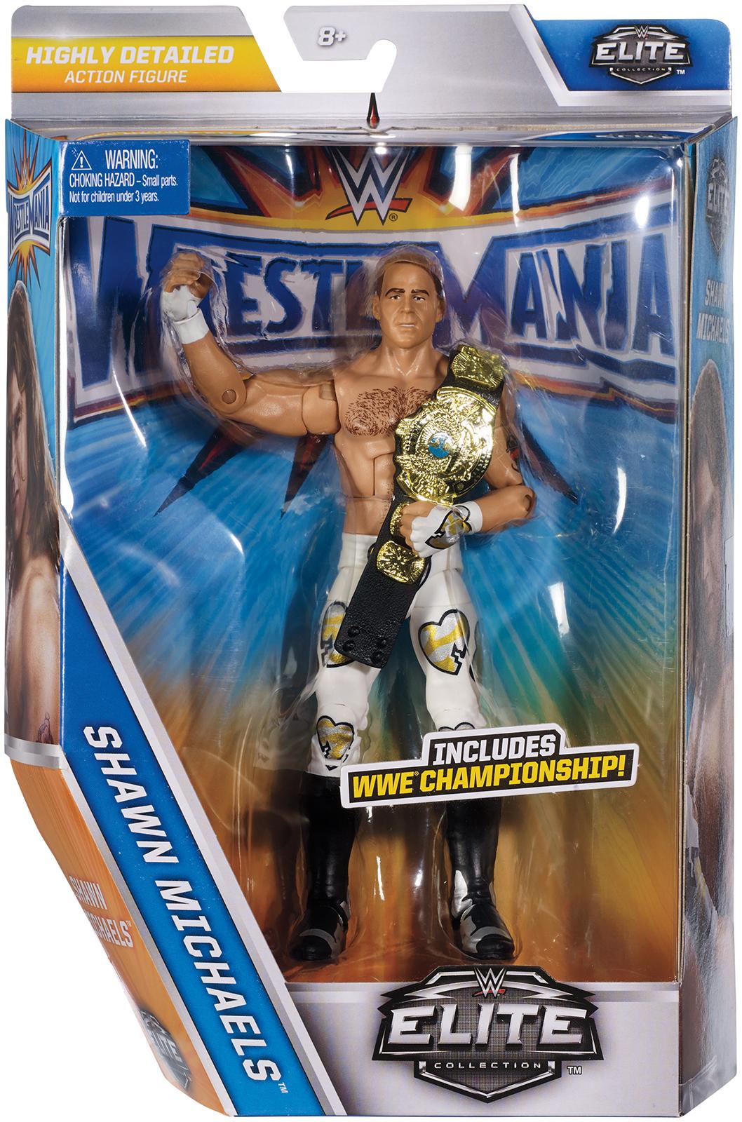 WWE Shawn Michaels WrestleMania 33 Elite Toy Wrestling