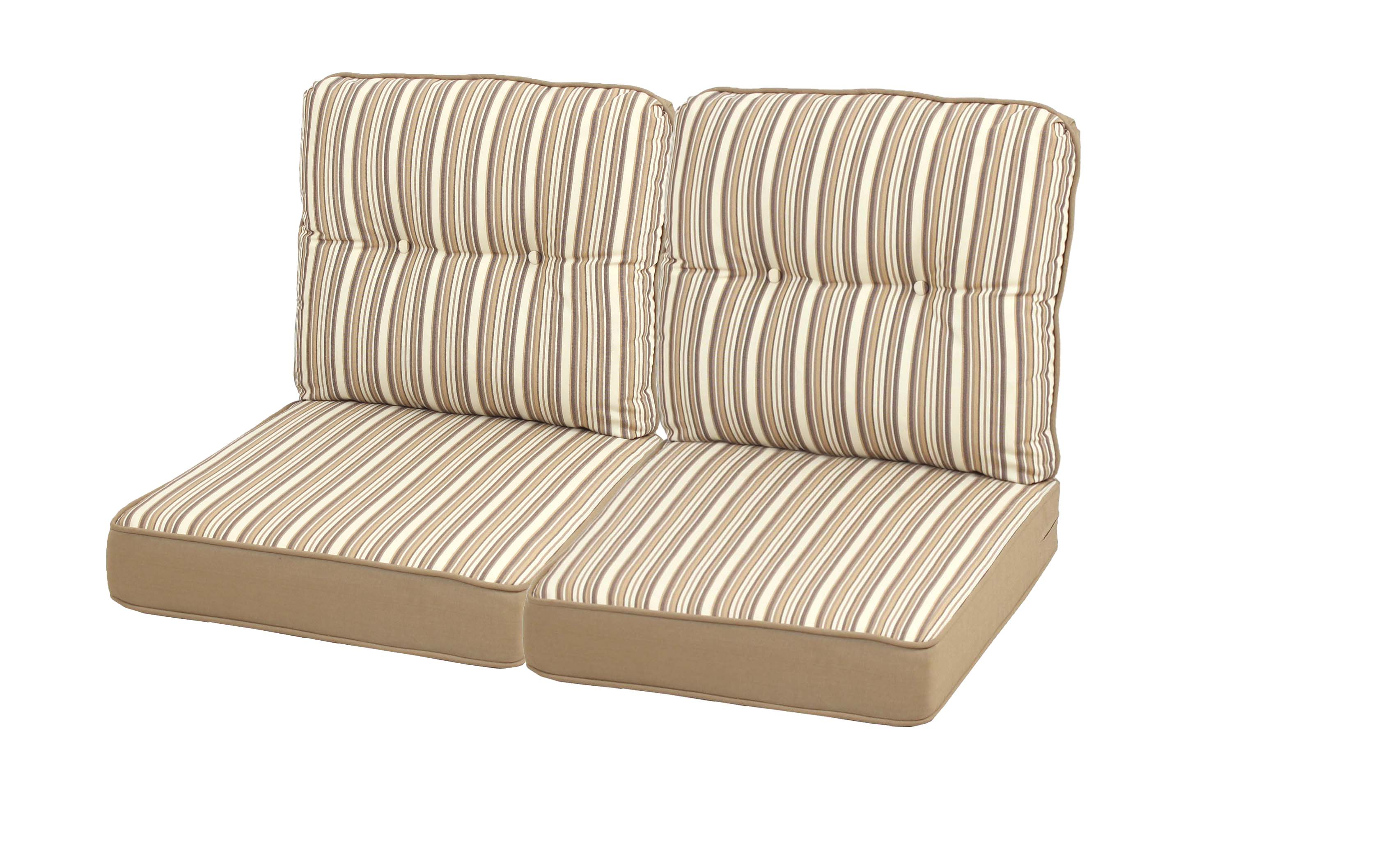 Mayfield Replacement Loveseat Cushion Set