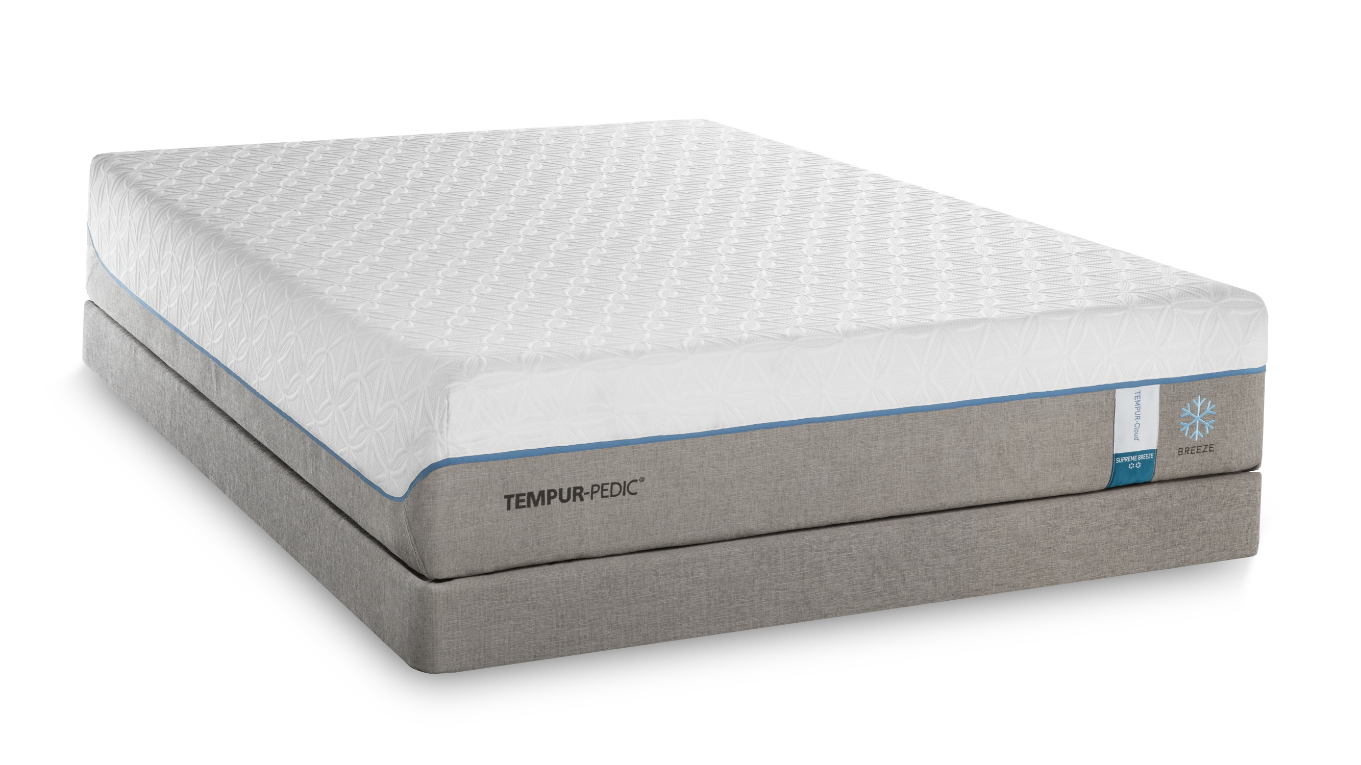 Tempur Pedic TEMPUR Cloud Supreme Breeze Split California