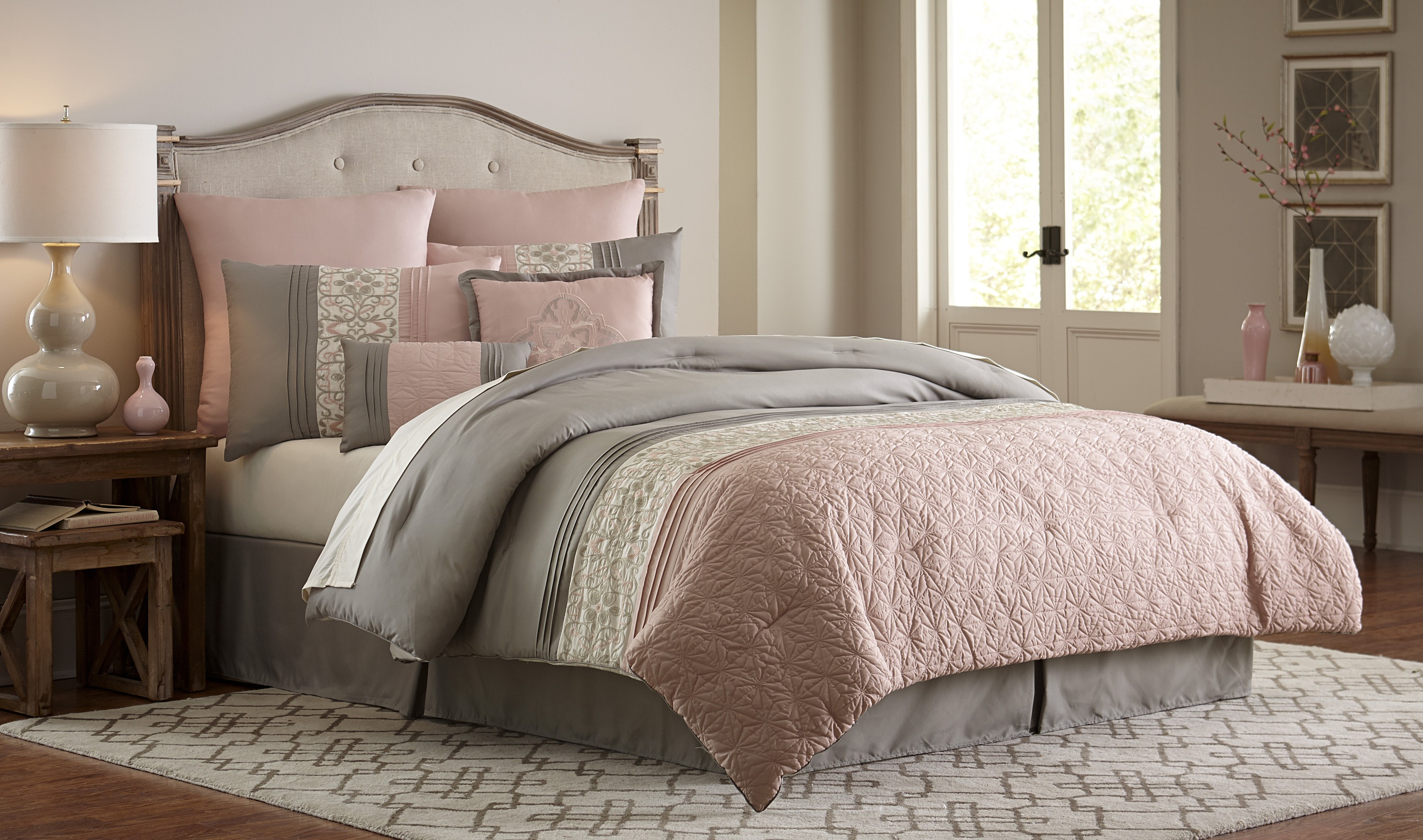 Essential Home 8-Piece Comforter Set