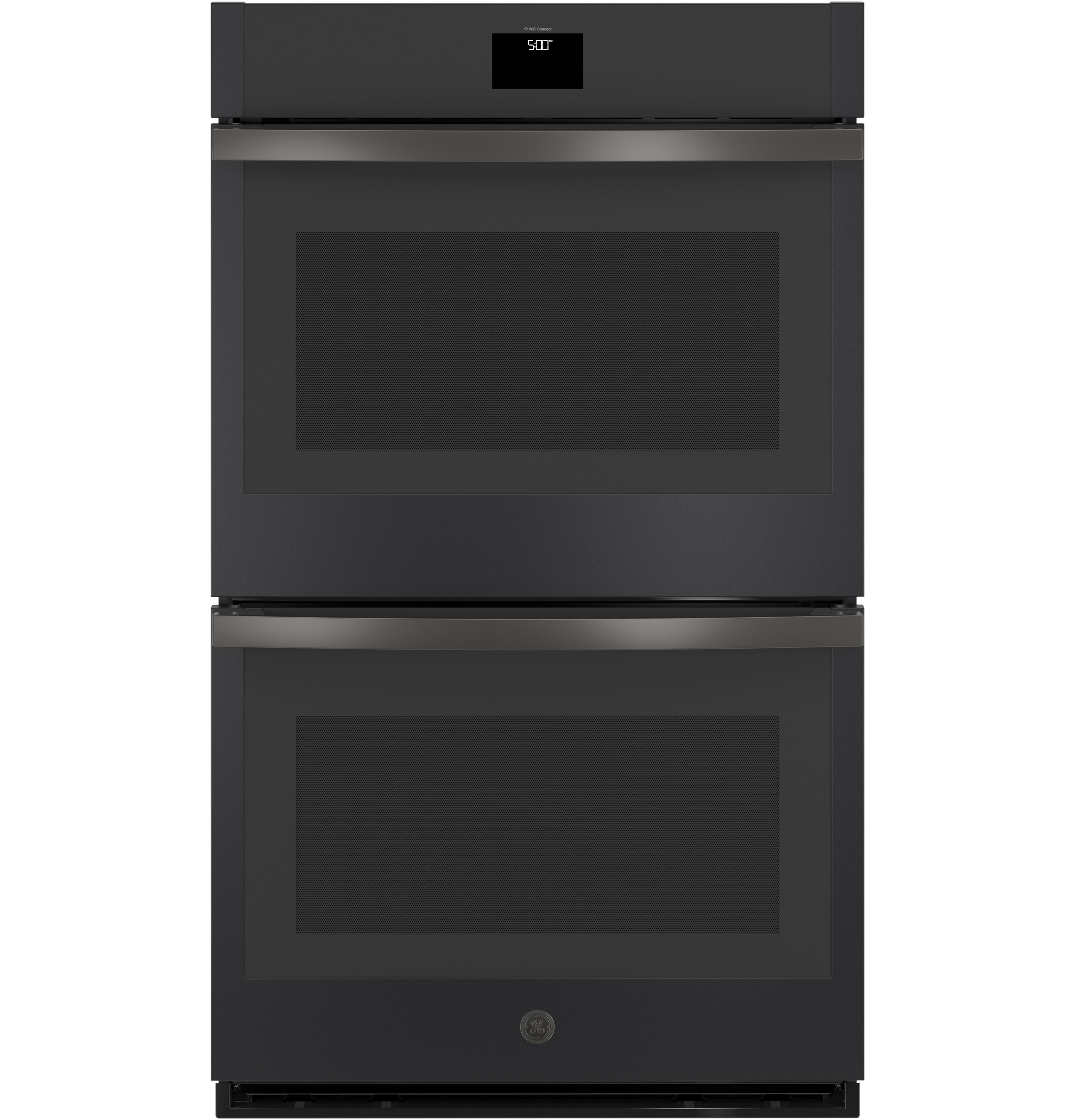 ge appliances jtd5000fnds 30 built in convection double wall oven black slate