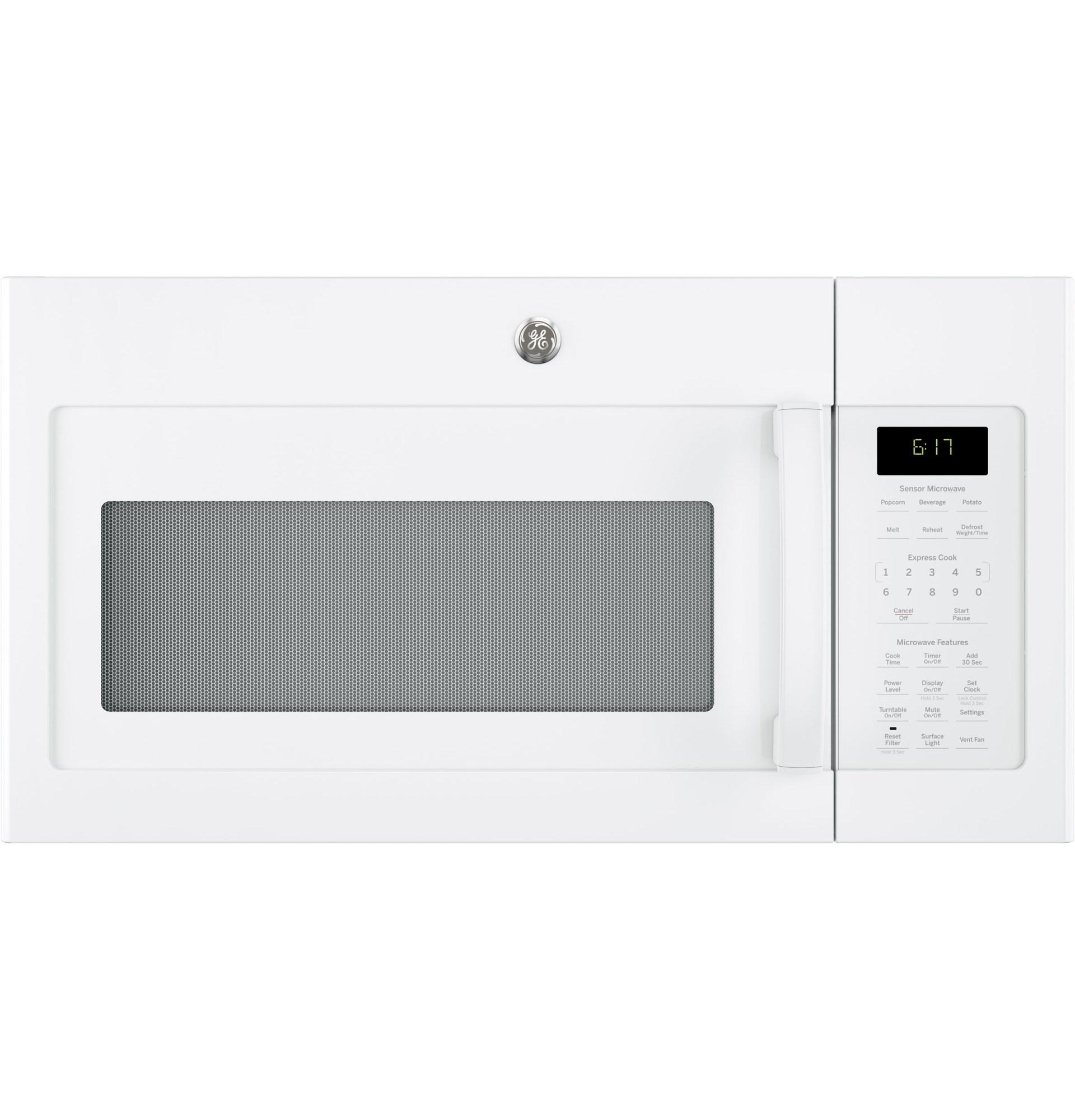ge appliances jvm6175dkww 1 7 cu ft