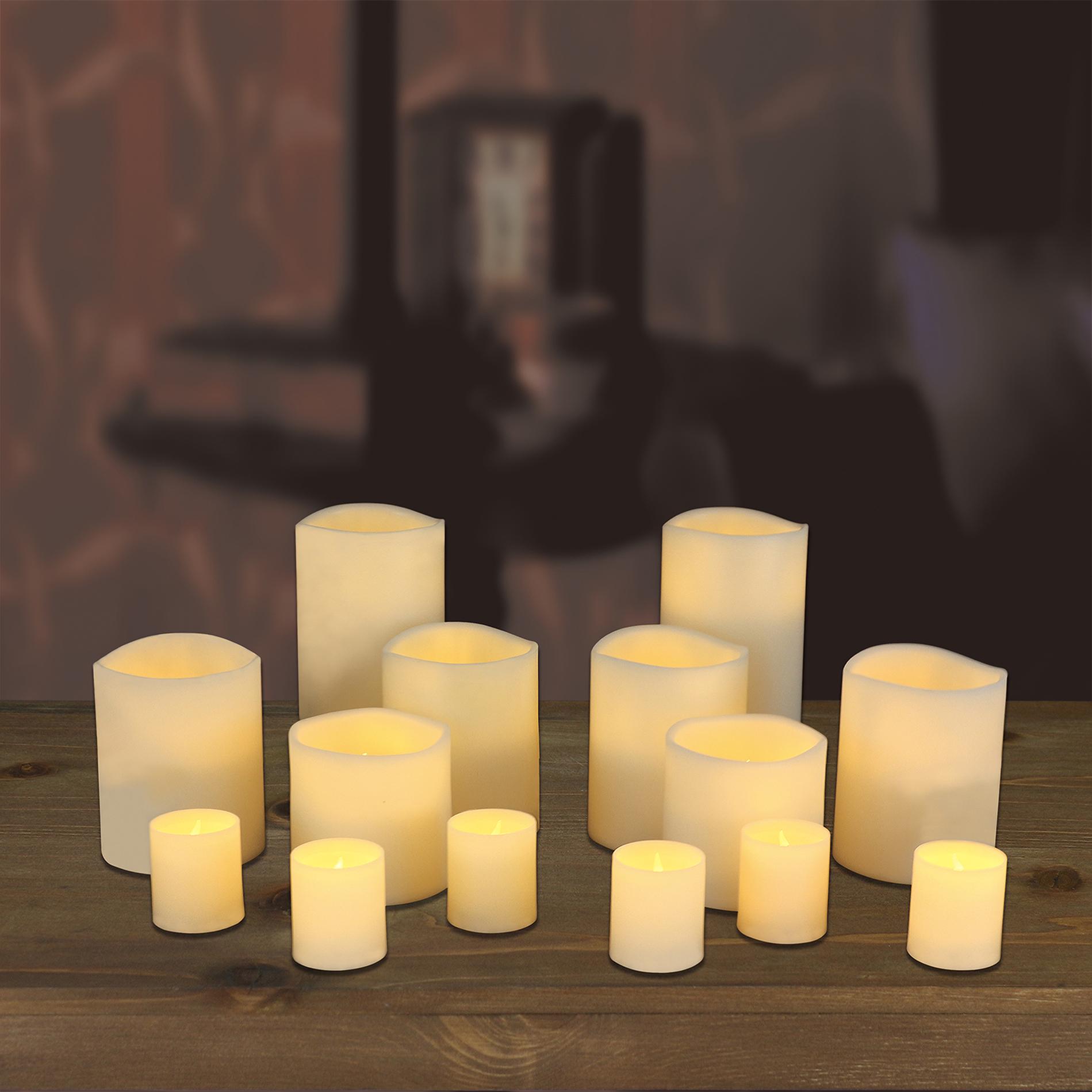 14 Piece LED Candle Set