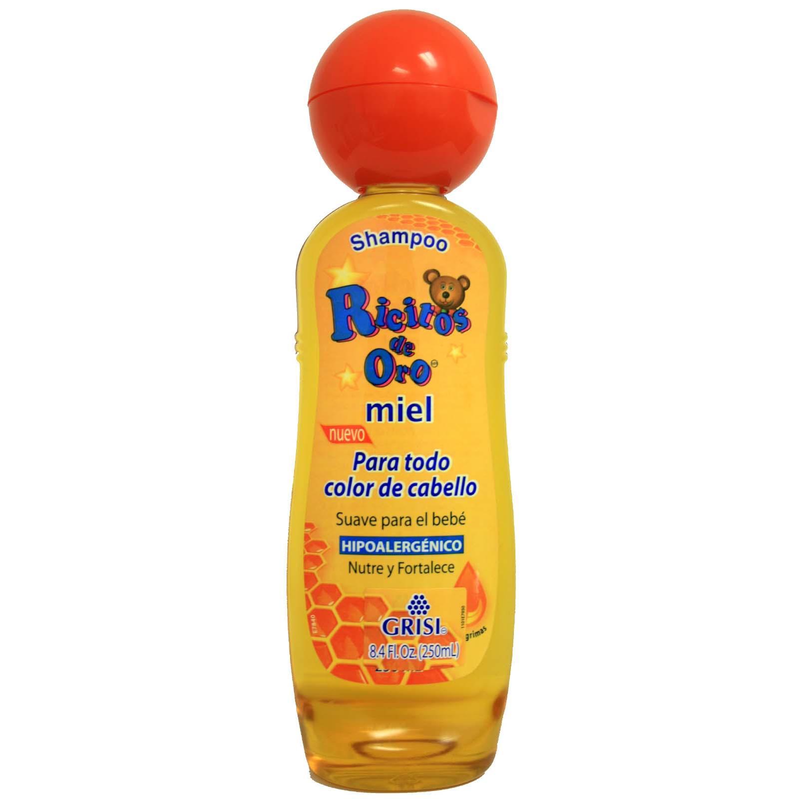 Ricitos De Oro Baby Shampoo Honey Bee 135 Fl Oz 400 Ml