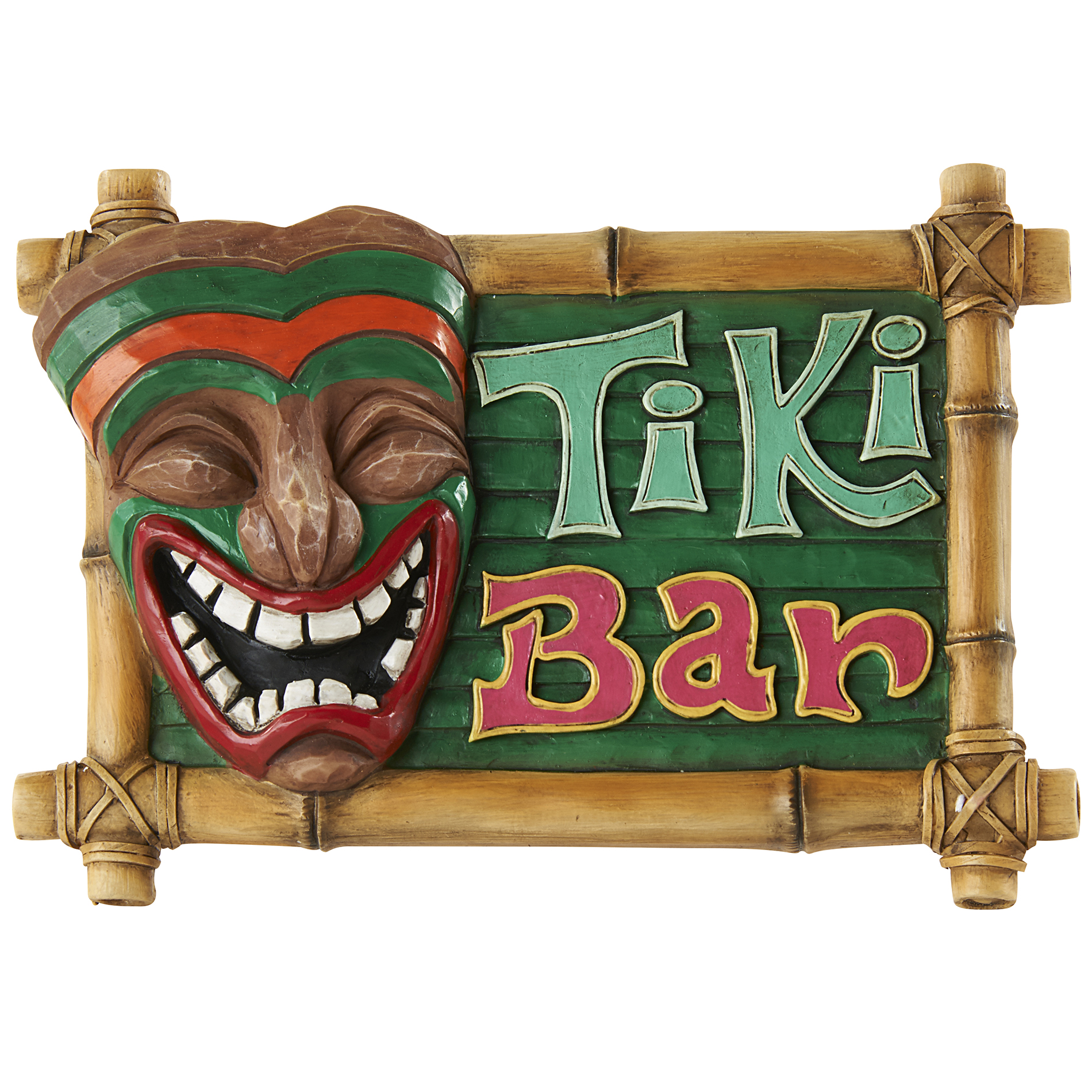 Tiki Bar Wall Sign