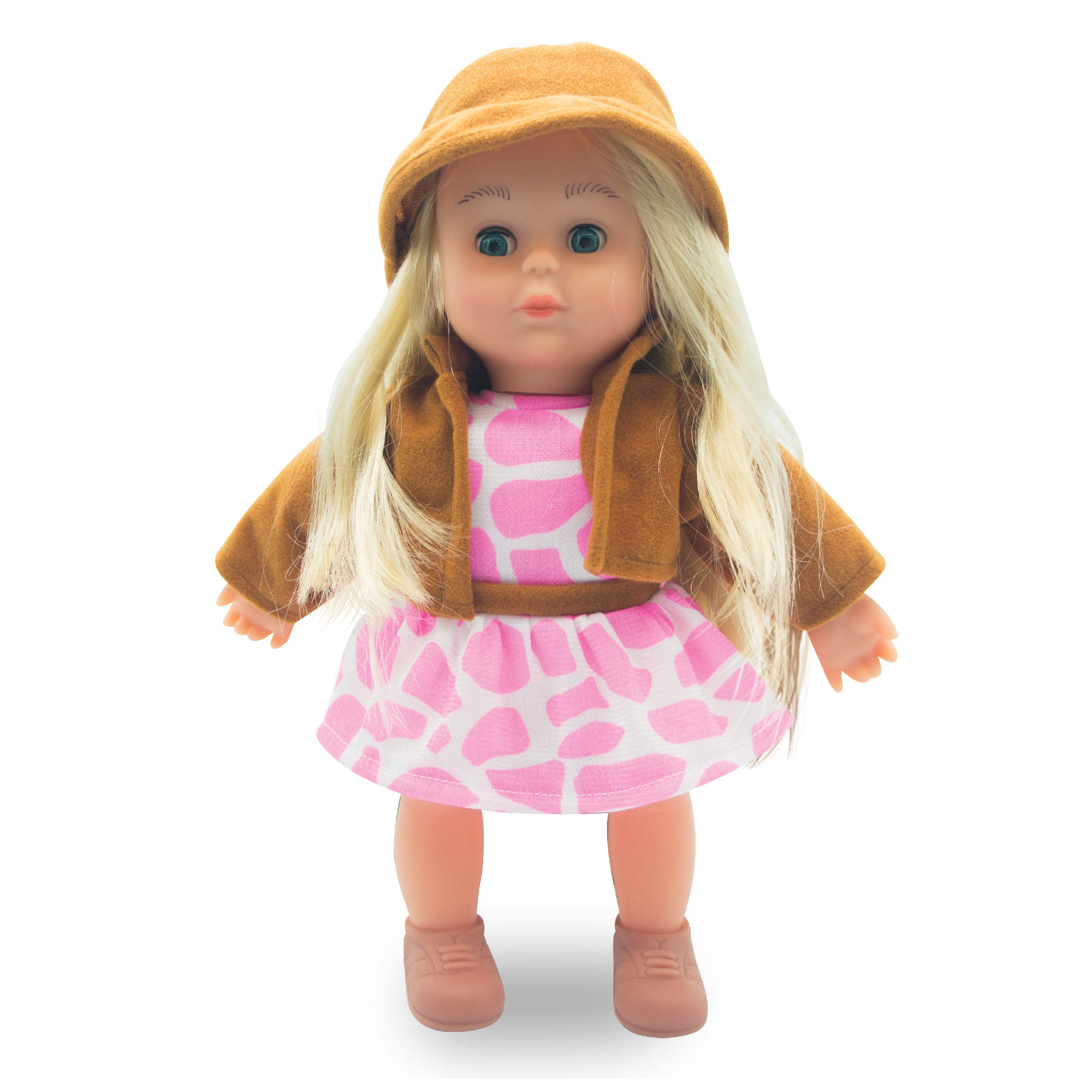Just Kidz 12 Quot Cow Girl Singing Rock And Road Doll Toys